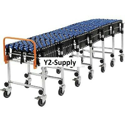 New Portable Flexible Expandable Conveyor-nylon Skate Wheels-24 Wide