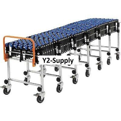 New Portable Flexible Expandable Conveyor-nylon Skate Wheels-24 Wide