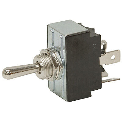 Dpdt-co 30 Amp Momentary On-off-on Toggle Switch 11-3334-a