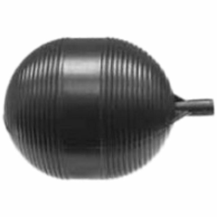 "4"" x 5"" Oval Plastic Ball Float"