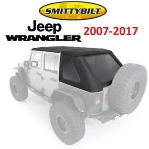 NEW SMITTYBILT JEEP COMBO SOFT TOP 9083235 199672377 FOR 2007 TO 2018 JEEP WRANGLER BOWLESS
