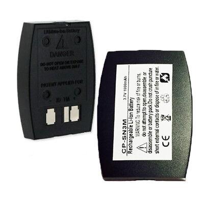1000mah Bat1060 Battery For 3m C1060 Xt-1 Wireless Drive-thru Intercom Headset