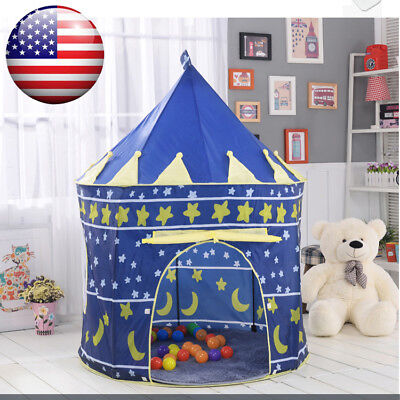 Best Kids Pop Up Castle Play Tent Toy Fairy Play House Indoor Outdoor Funny