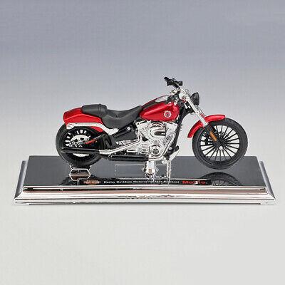 Harley-Davidson 2016 Breakout Motorcycle Red Diecast Motor Bike Model By Maisto