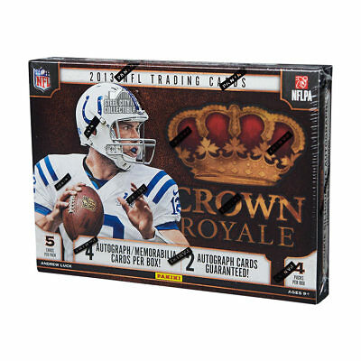 2013 Panini Crown Royale Football Hobby Box