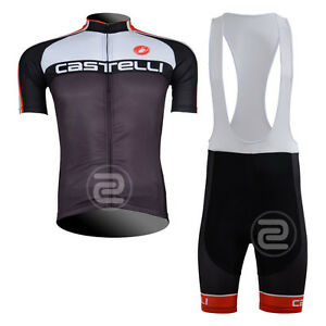 2014 New Hot Road Team Men Bike Cycling Jersey Bib Shorts Kit Shirt Pants Suit