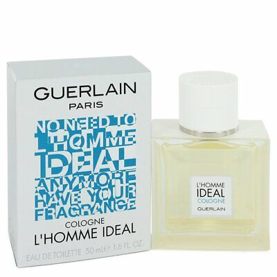 L'homme Ideal Cologne by Guerlain 1.6 oz EDT Cologne Spray for Men New in Box