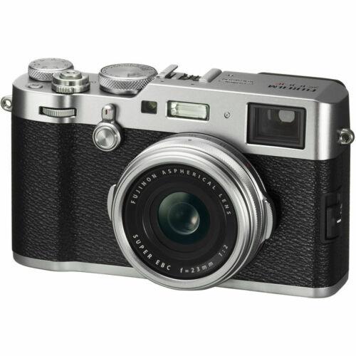 Fujifilm - X-Series X100F 24.3-Megapixel Digital Camera - Si