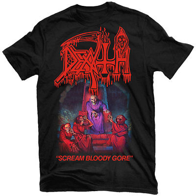 Bloody Gore (DEATH Scream Bloody Gore T-Shirt NEW! Relapse Records)