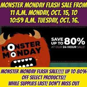 Scentsy flash-sale upto 80% off...