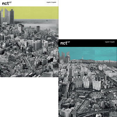 NCT127 [NCT #127 REGULAR-IRREGULAR] 1st Album 2Ver SET 2CD+2Book+Card+2PreOrder