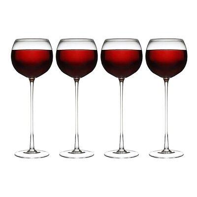 4er Set Lang mit Stiel Weingläser Neuheit Drinkware Glas Partys Events (Neuheit Gläser)