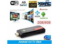 Smart TV Stick Android MK809IV Quad Core 2gb+8G WIFI+FREE Wireless Remote Mini Pc