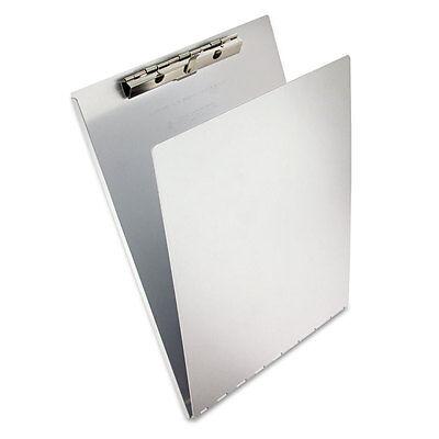 Saunders Aluminum Clipboard Wwriting Plate 38capacity 8.5w X 12h Silver