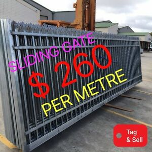 SECURITY SLIDING GATE 1800 high $260 per metre Salisbury South Salisbury Area Preview