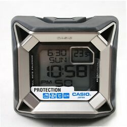 Casio Shock Protection Resist Digital Alarm Clock with Thermometer GQ-500