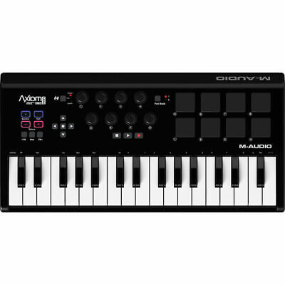 M-Audio Axiom Air Mini 32 32-Key 8 Pad MIDI Keyboard Controller 8 Trigger for sale  Shipping to Nigeria