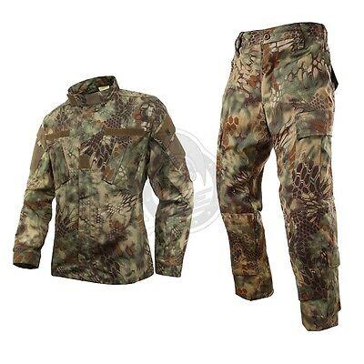 MANDRAKE Military BDU Tactical Uniform Shirt Pants Kryptek Hunting Airsoft Suit