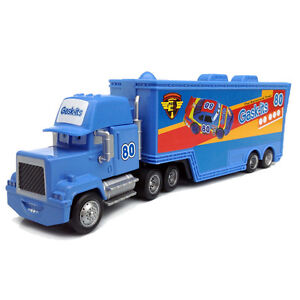 Disney Pixar Cars Movie No.80 Gask-its Team's Hauler Truck Trailer Toy