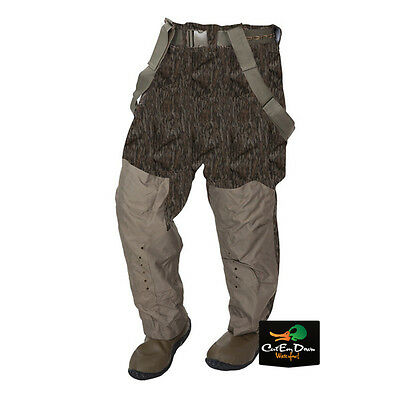 NEW BANDED GEAR REDZONE BREATHABLE INSULATED WAIST WADERS BOTTOMLAND CAMO 10