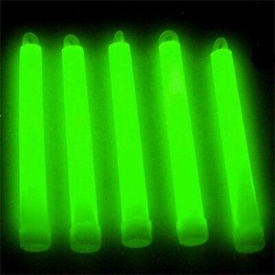 "6"" Steep Lumistick Glow Light Sticks Green (Tube of 25)"