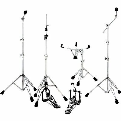 Taye Hardware - Taye HPA 5 Piece Hardware Pack DP Snare, Hi Hat, Cymbal, Boom Stands & Pedal