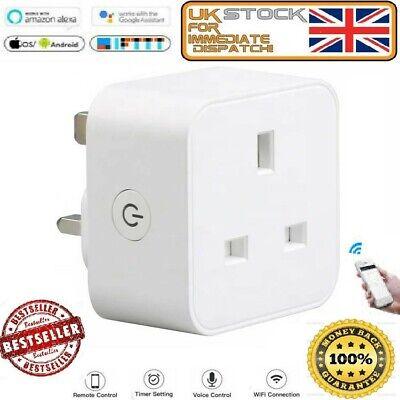UK Best WiFi Smart Plug Works With Alexa Echo Google IFTTT 13A smart Life (Best Smart Plug Uk)
