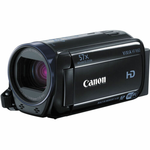 Canon VIXIA HF R60 8GB HD Flash Memory Camcorder Black 0279C001