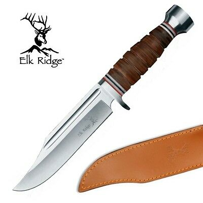 KNIFE COLTELLO DA CACCIA ELK RIDGE PRO 047 PESCA HUNTING SURVIVOR SURVIVAL