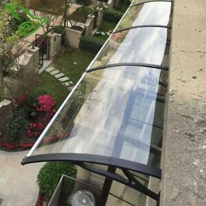 Polycarbonate Awning for Window&Door House canopy UV protected#190812