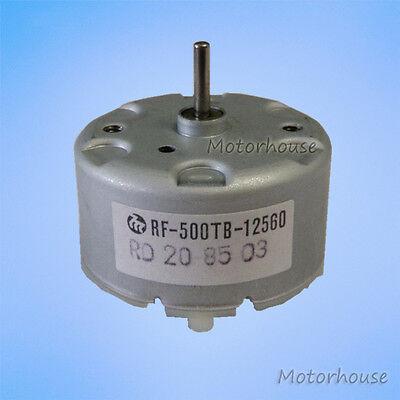 Mabuchi Rf-500tb-12560 Micro Dc Motor Dc 12v 5500rpm 32mm Diameter Solar Motor