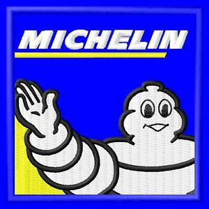 Michelin man quadrat Parche bordado Thermo-Adhesiv iron-on patch - Poznan, Polska - Zwroty są przyjmowane - Poznan, Polska