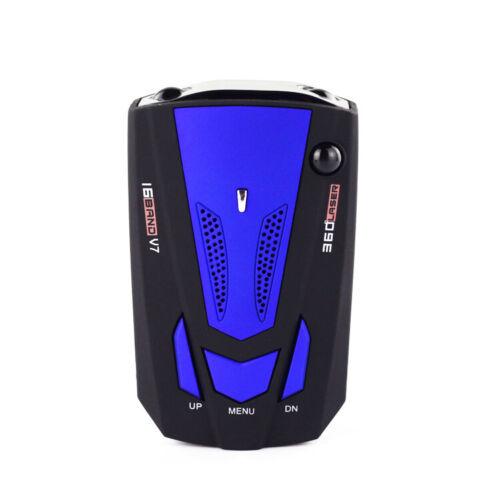 360 Degree Car 16 Band V7 Gps Speed Police Safe Radar Detector Voice Alert Laser
