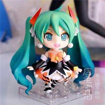 NEW Hatsune Miku Halloween Ver. Nendoroid Painted PVC Figuren Figur Spielzeug DE