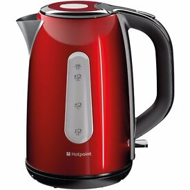 New Hotpoint WK30MDR0 Kettle Red 1.7L Was: £49.99
