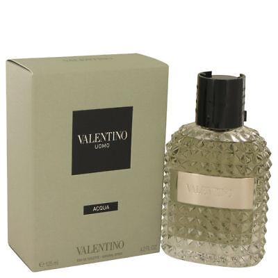 Valentino Uomo ACQUA Cologne 4.2 oz./125 ml EDT Spray for Men Brand New TESTR, used for sale  USA