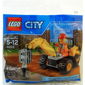 LEGO Demolition Driller Polybag 30312 - NEW and UNOPENED