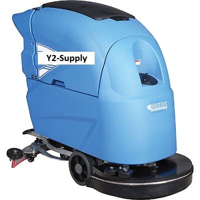 New Auto Floor Scrubber 20 Cleaning Path Two 115 Amp Batteries