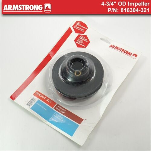 """NEW Armstrong Pump 816304-321 - 4-3/4"""" Impeller"""