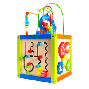 5 in 1 Activity Cube for kids 18M+