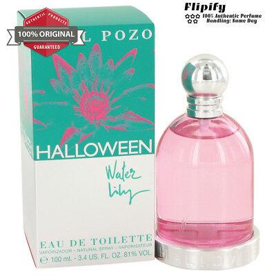 Halloween Water Lilly Perfume 3.3 3.4 oz / 100 ML EDT Spray WOMEN Jesus Del - Perfume Halloween Jesus Del Pozo 100 Ml