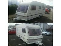 Touring caravan 5 berth abbey piper executive good clean condition full size awning