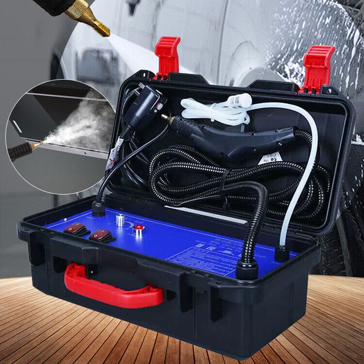 1400W High Temp Electric Steam Cleaner Carpet Car Upholstery Cleaning Machine