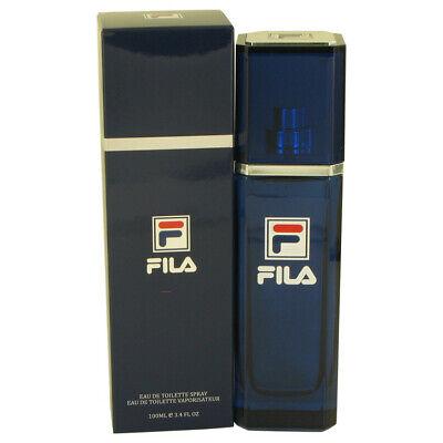 Fila by Fila 3.4 oz 100 ml EDT Cologne Spray for Men New in Box