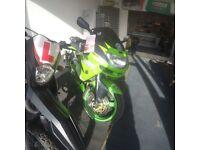 Kawasaki zx6r 1998