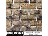 London Weathered Brick Slips/ Slip Bricks / Brick Cladding