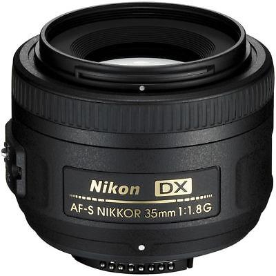 Nikon AF-S DX NIKKOR 35mm f/1.8G Lens for Nikon DSLR Cameras 2183