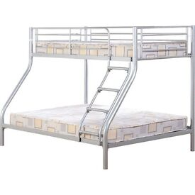 Triple Bunk Bed with 2x Matress £180