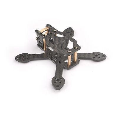 Toad 90mm Mini 2.5mm 3K Pure Carbon Fiber CNC Aluminun Racing Quadcopter Frame N