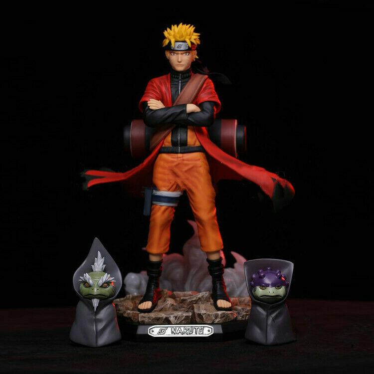 Uzumaki Naruto Sage Model Anime Naruto Shippuden GK PVC Figure Toy New No Box